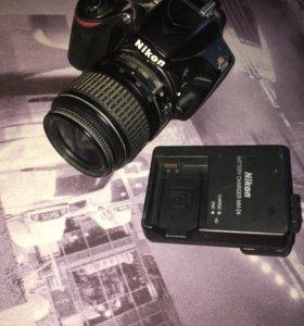 Продаю фотоаппарат зеркалку NIKON D3200