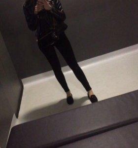 Штаны чёрные H&M