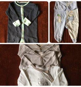 Одежда для малыша 62-68см.