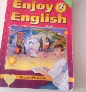 Учебник по английскому языку 7 класс Биболетова