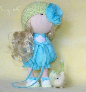 Кукла интерьерная ручной работы
