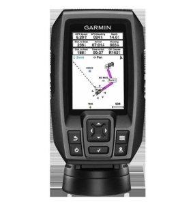 Garmin striker 4 рыбопоисковый эхолот chirp с GPS