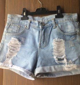 Шорты джинсовые (S размер)