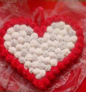 Сердце обьемное для самых любимых