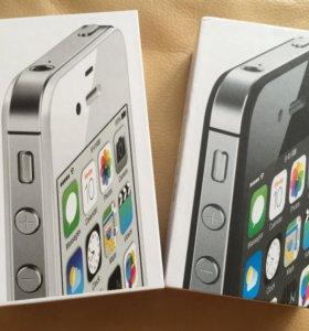 Новые оригинальные iPhone 4S 16/32gb магазин