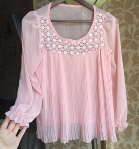 Волшебная розовая блузка