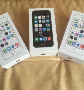 iPhone 5S 16-64gb оригинал новые, магазин