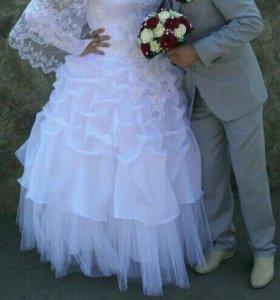 Свадебное платье р50-54