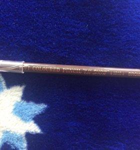 Коричневый карандаш для бровей