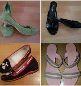 Туфли и шлепки
