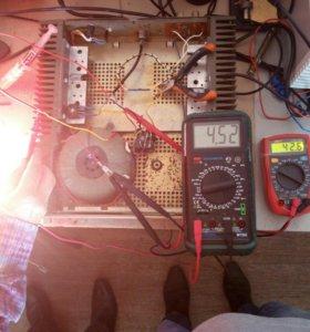 """Корпус от """"Орбита УМ002"""" и трансформатор"""