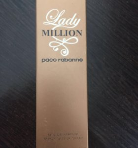 Духи paco rabanne lady million 45 ml