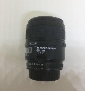 Nikon 60mm f 2.8D macro