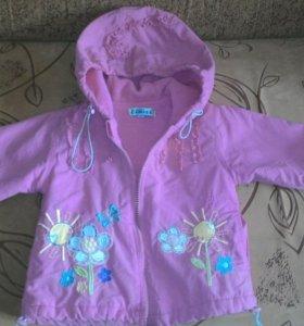 Детские курточки-ветровки