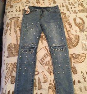 Новые красивые джинсы 👖 27р