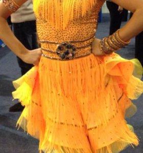 Платье для латино-американской программы