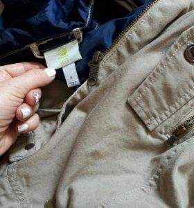 куртка, парка 2в1 Adidas с  подстёжкой