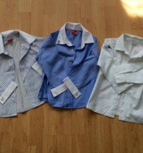 Рубашки на 92-98