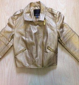 Куртка кожзам р.140
