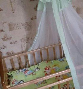 Детская кроватка0+