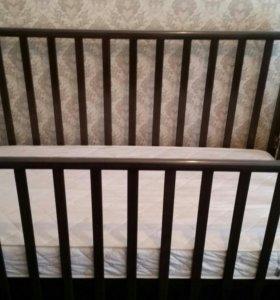 Кровать детская ЭКО б/у от 0 до 7 лет