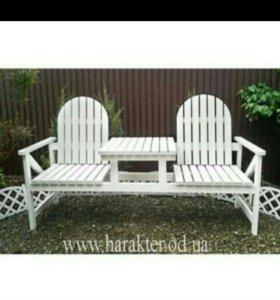 Стол с креслами