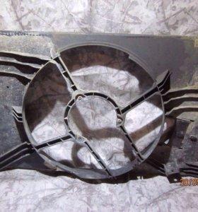 На Опель Вектра С Opel Vectr Диффузор вентилятора