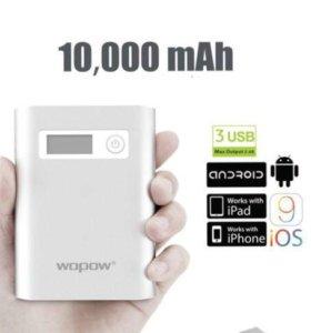 WopoW 10000mAh (100% честный Повер банк)