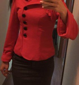 Пиджак кофта и юбка