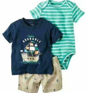 Продам комплект(шорты,боди,футболка)