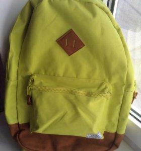 Портфель ярко-жёлтый