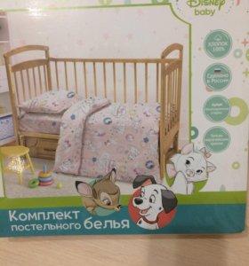 Комплект детского постельного белья для малышей