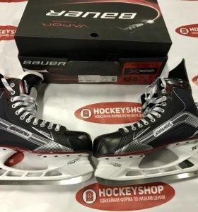 Новые хоккейные коньки Bauer x500