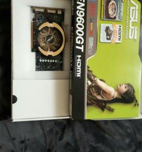 Asus Nvidia GeForce 9600GT видеокарта б/У