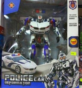 Робот/трансформер полицейский