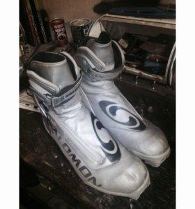 Лыжные ботинки (Salomon)