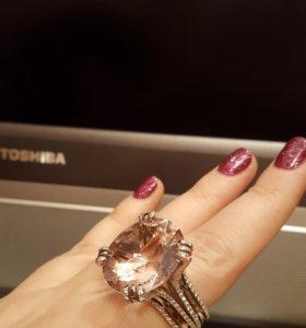 Золотое кольцо с амитрином