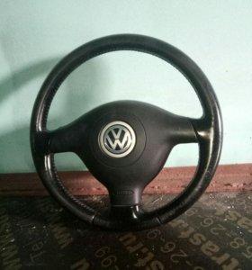 Рулевое колесо на пассат б-5