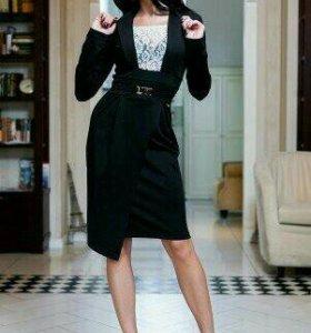 Платье новое черное 44-46