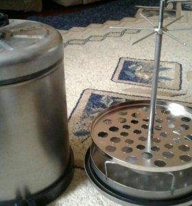 Духовка для копчения пищевых продуктов