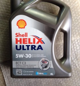 Масло моторное Shell Helix 5W-30 Ultra ECT C3 4 л