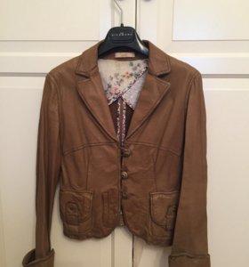 Куртка кожаная, 100% кожа
