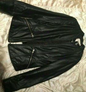 Курточка кожаная Pull&Bear
