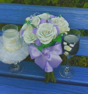 Свадебные букеты,на заказ