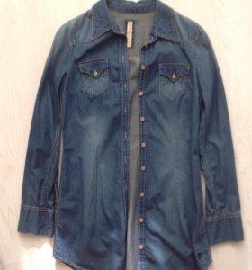Рубашка джинсовая Тоm Tailor