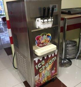 Фризер для производства мягкого мороженого