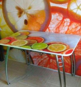 Стол раздвижной цитрусовые фрукты