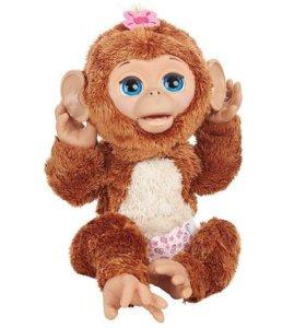 Интерактивная игрушка Смешливая обезьянка
