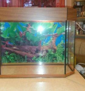 Продам аквариум 50 литров