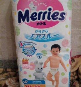 Подгузники Merries XL (44 шт)